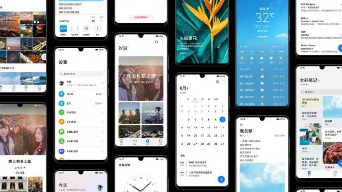 EMUI 10 smartphone Huawei e Honor