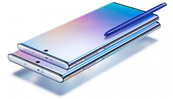 Samsung Galaxy Note 10 e Note 10 Plus ufficiali