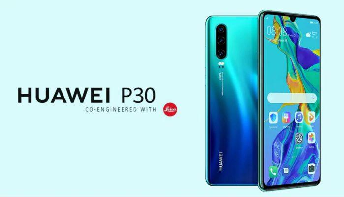 Huawei P30 si aggiorna a fine agosto 2019