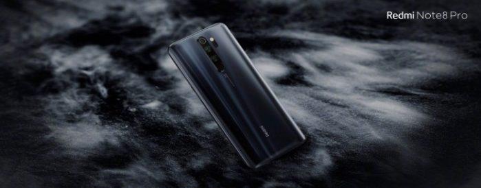 Redmi Note 8 pro design posteriore