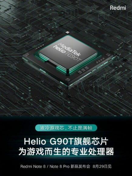 Helio G90t su Redmi Note 8 Pro