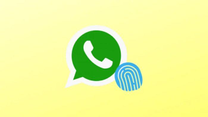 WhatsApp per Android supporto accesso tramite impronte digitali