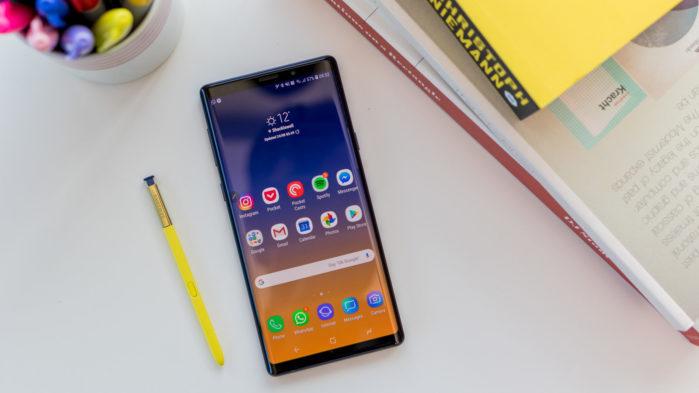 Galaxy Note 9 aggiornamento agosto 2019