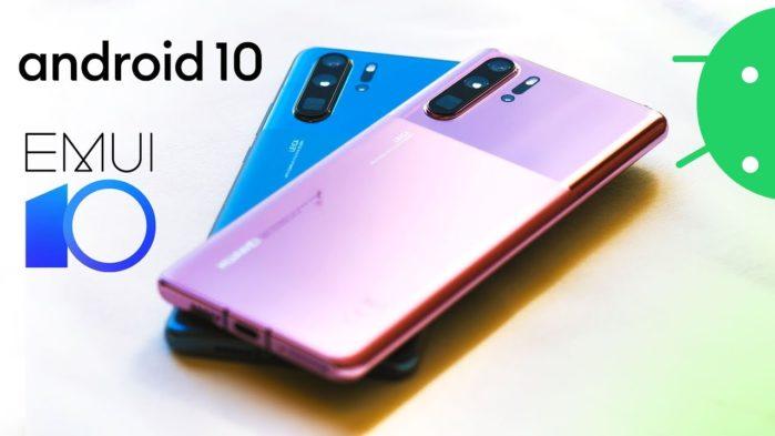 EMUI 10 con Android 10 su smartphone Huawei e Honor