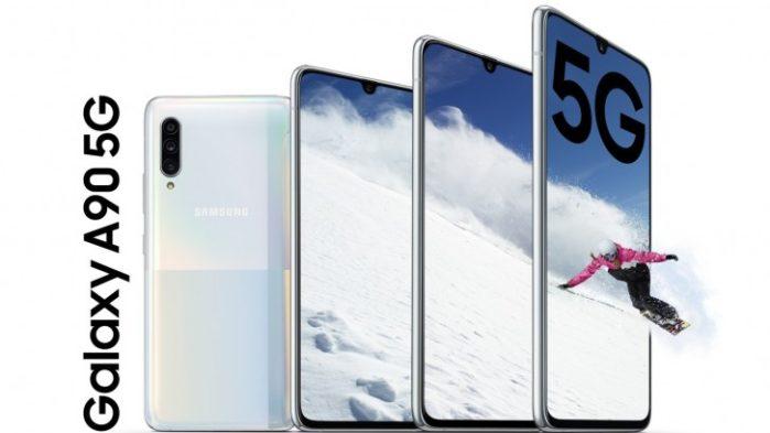 Samsung Galaxy A90 5G ufficiale