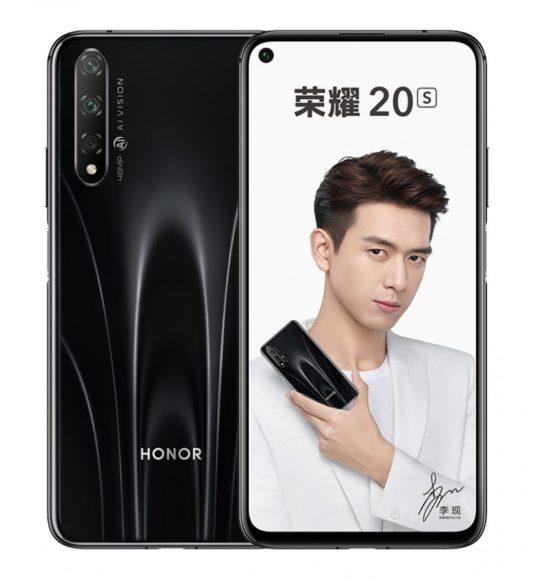 Honor 20s nero