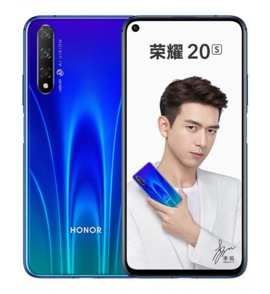 Honor 20s Blu