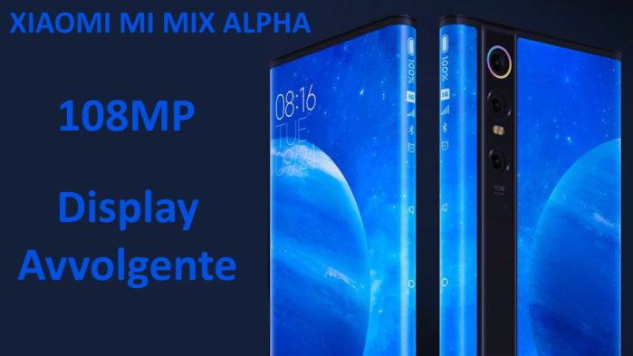 Xiaomi Mi Mix Alpha ufficiale: più caro del Galaxy Fold