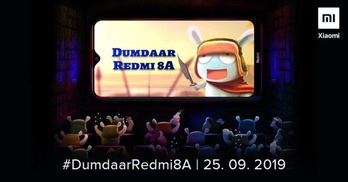 Redmi 8A data presentazione