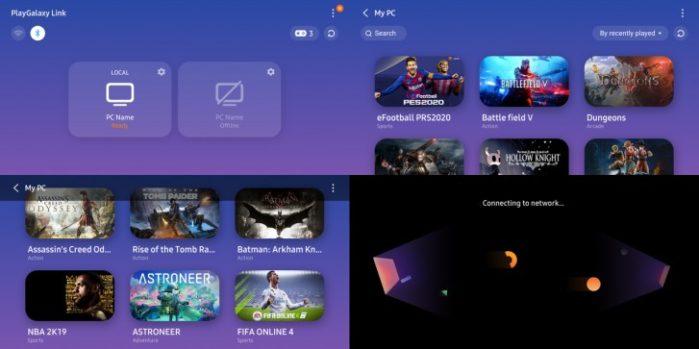 Samsung PlayGalaxy LInk in beta su Galaxy Note 10