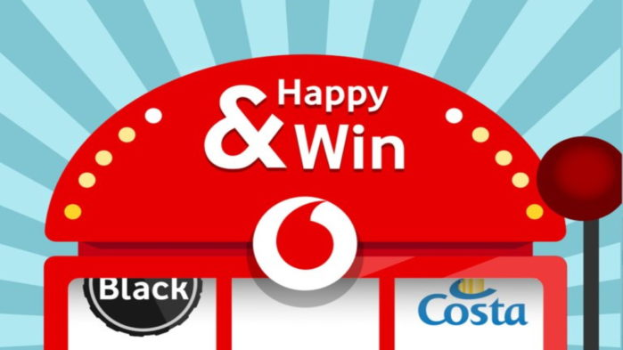 Vodafone Happy & Win concorso