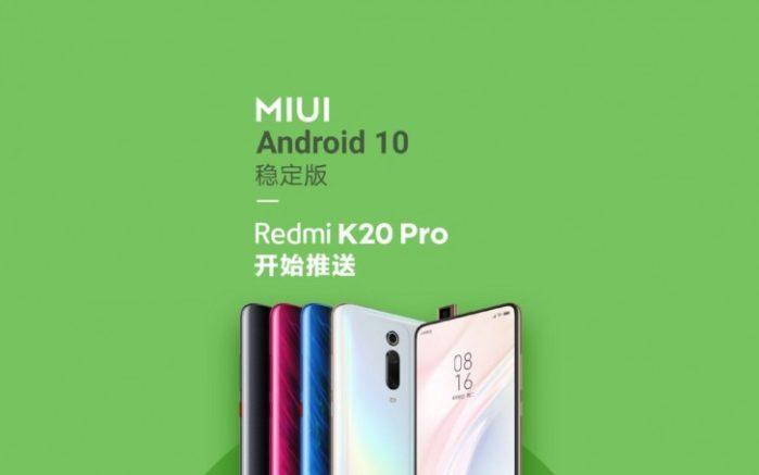 Android 10 su Xiaomi Redmi K20 Pro, OnePlus 7 e 7 Pro e Essential Phone