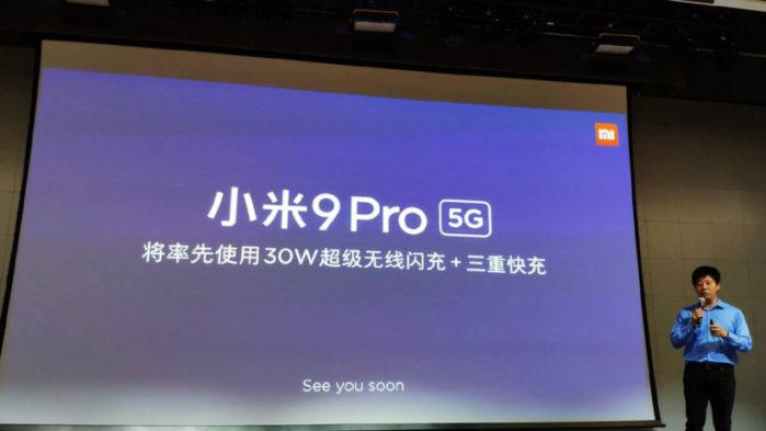 Xiaomi Mi 9 Pro 5G con ricarica wireless 30W