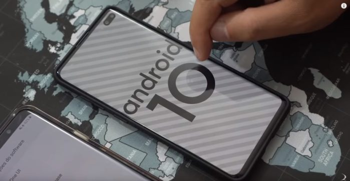Galaxy Note 10 e Galaxy S10 Android 10 Beta in Europa