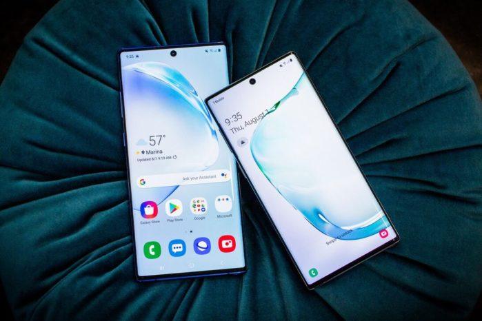 Galaxy Note 10 e Note 10 Plus aggiornamento settembre 2019