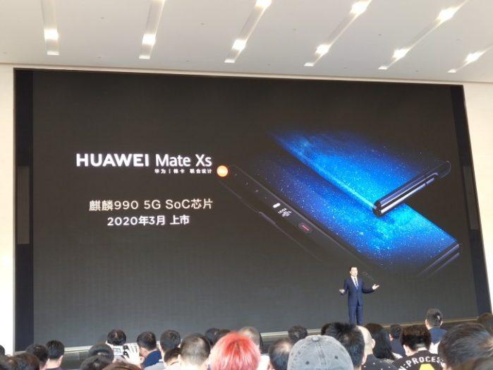 Huawei Mate Xs in arrivo a marzo 2020