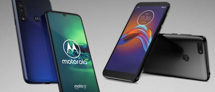 Motorola Moto G8 Plus e Moto E6 Play ufficiali