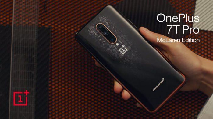 OnePlus 7T Pro e 7T Pro Mclaren ufficiali