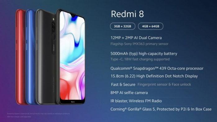Redmi 8 offerta coupon