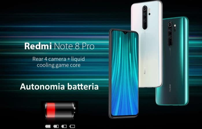 Redmi Note 8 Pro recensione autonomia batteria