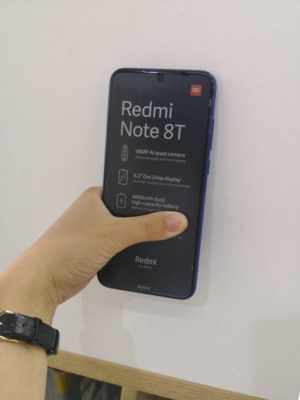 Redmi Note 8T immagini dal vivo