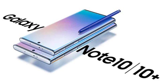 Galaxy Note 10 e Note 10 Plus aggiornamento ottobre 2019