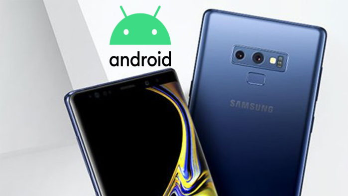 Galaxy Note 9 con Android 10 beta in video