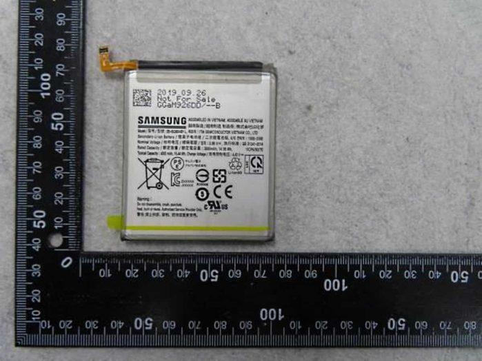 Batteria Galaxy S11e live