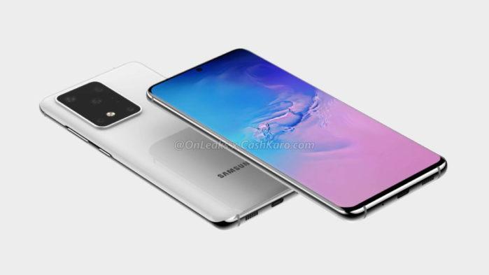 Samsung Galaxy S11 Render design e video 3D