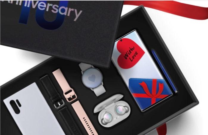 Galaxy Box anniversario Galaxy Note 10 Plus in Italia: il prezzo