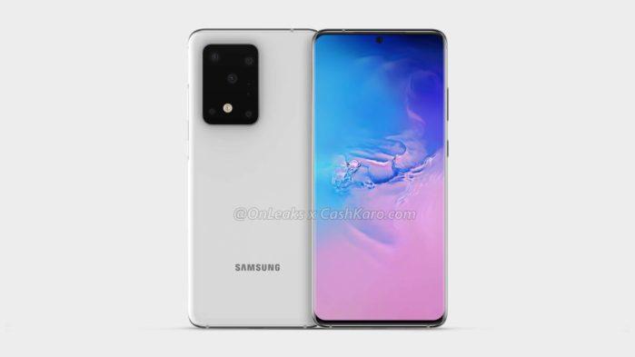 Galaxy S11 render top