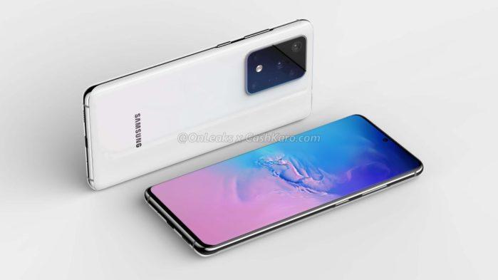 Galaxy S11 render 1 super batteria