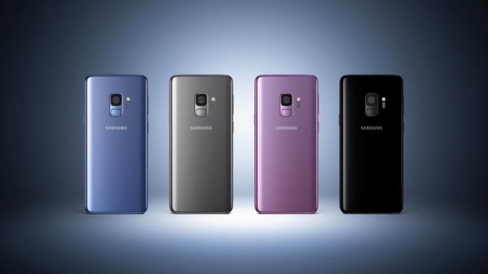 Galaxy S9 e S9 Plus aggiornamento firmware novembre 2019