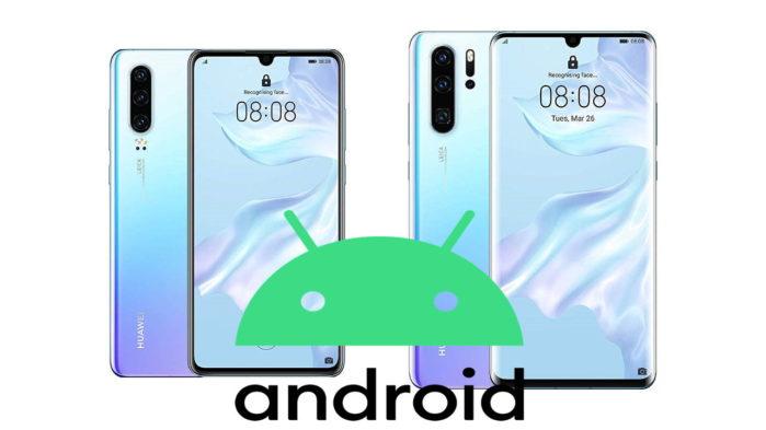 Huawei P30 e P30 Pro aggiornamento Android 10 con Emui 10 in Italia