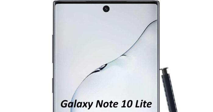Galaxy Note 10 Lite spunta su Geekbench