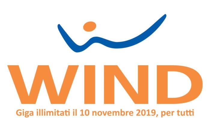 Wind internet illimitato 10 novembre 2019