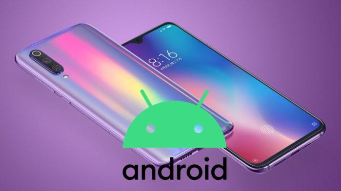 Xiaomi Mi 9 Android 10 con MIUI 11 Italia
