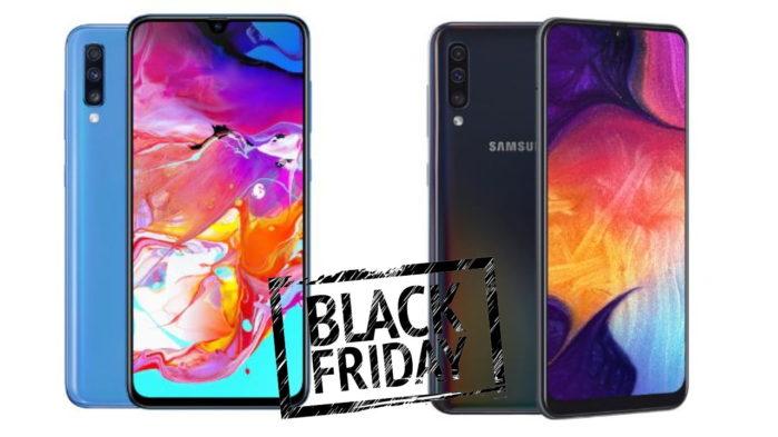 Galaxy A50 e Galaxy A70 offerte Black Friday
