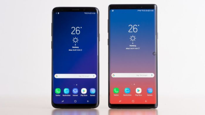 Galaxy S9 e Galaxy Note 9 beta test Android 10 in arrivo?