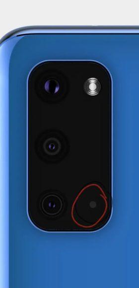 Galaxy S11e autofocus laser?