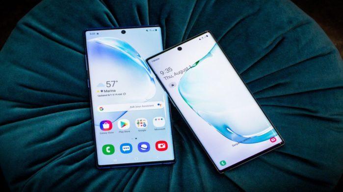 Galaxy Note 10 e Note 10 Plus aggiornamento novembre 2019