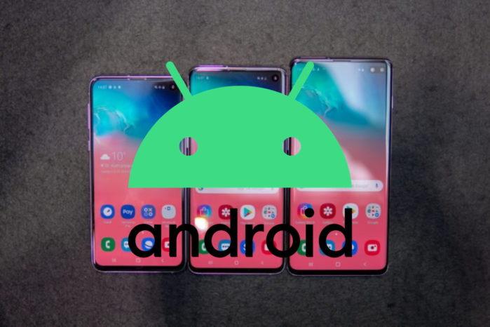 Gamma Galaxy S10 aggiornamento Android 10 in Europa iniziato