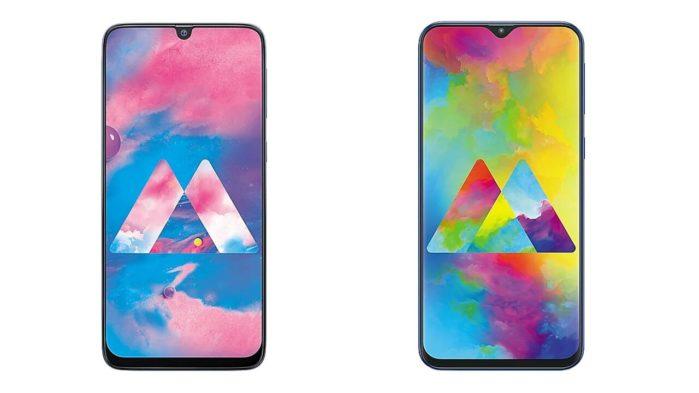 Samsung Galaxy M20 e Galaxy M30 aggiornamento Android 10 rumors