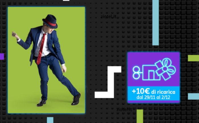 Tim 10 euro di credito in regalo promo auto-ricarica fino al Cyber Monday