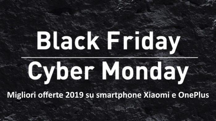 Migliori offerte su Smartphone Xiaomi e OnePlus fino al Cyber Monday da Gearbest