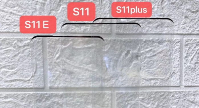 Dimensioni Galaxy S11 vari modelli