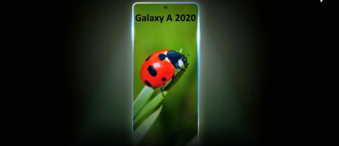 Samsung Galaxy A 2020 data presentazione