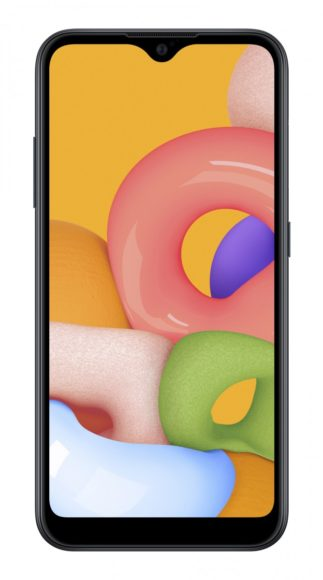 Galaxy A01 frontale