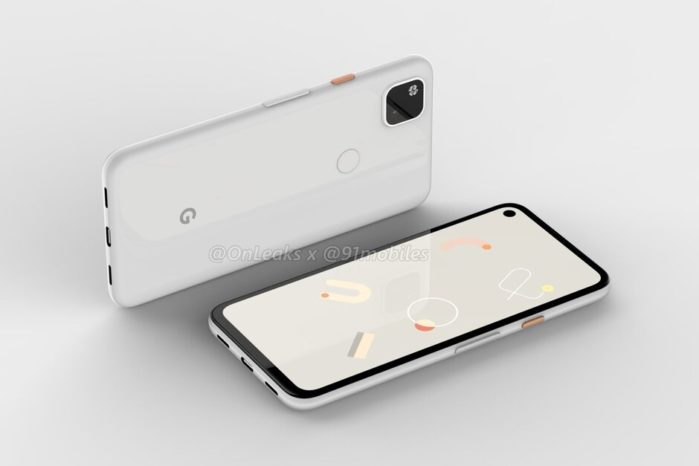 Google Pixel 4A design svelato