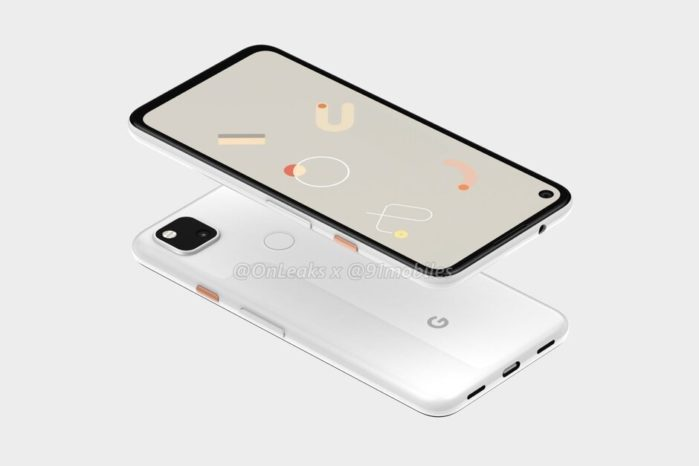 Pixel 4a design 2